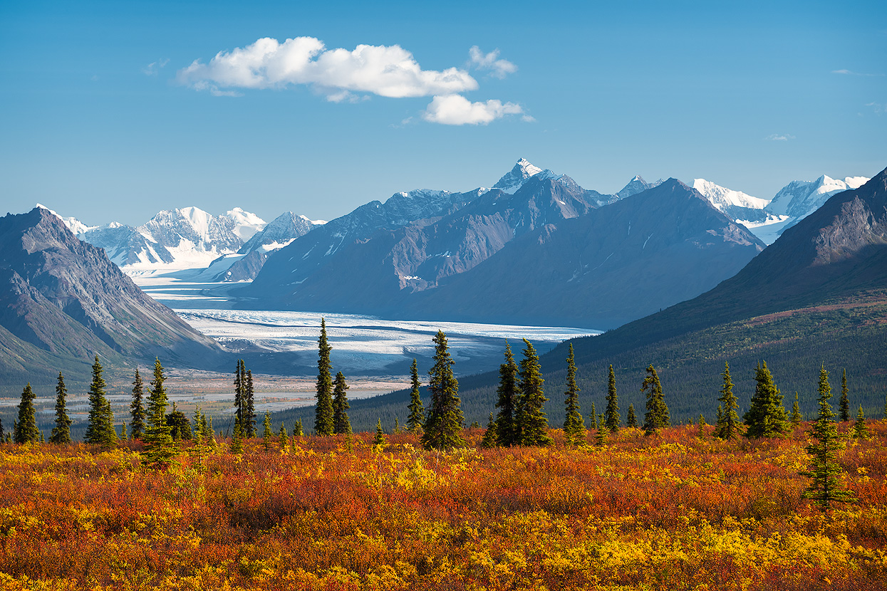 Glenn Highway is a Top Spot in Alaska for Fall Foliage