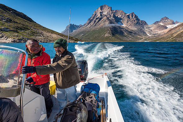 Organized boat transfers are the easiest way to cross a fjord