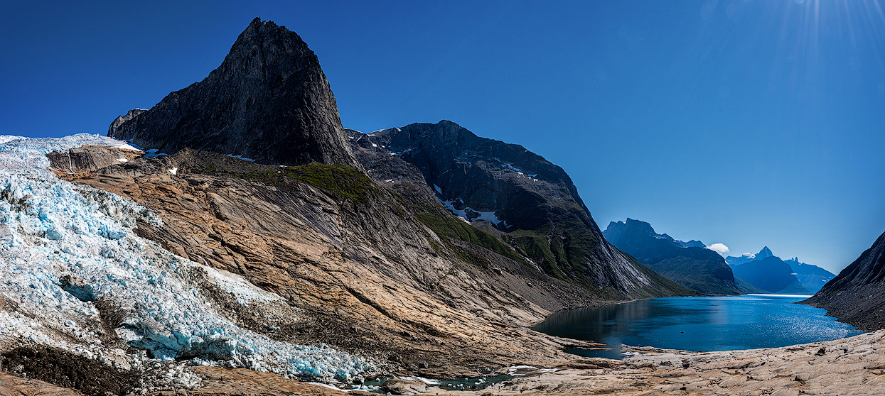 Glacier Sermeq doesn't reach the water of Tasermiut fjord anymore… Too sad!