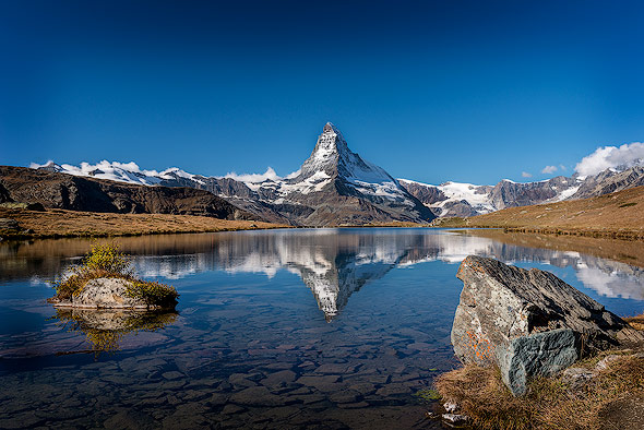 Reflection of Mount Matterhorn
