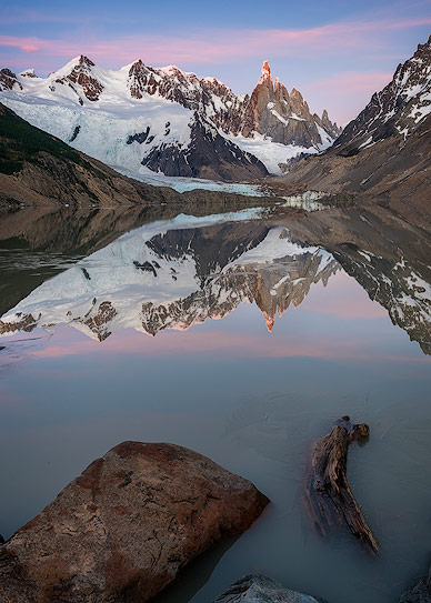 Stunning sunrise at Lago Torre