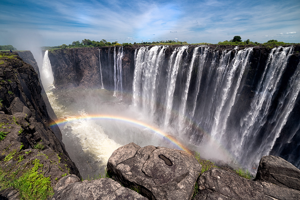 UNESCO World Heritage Site & World's largest Waterfall