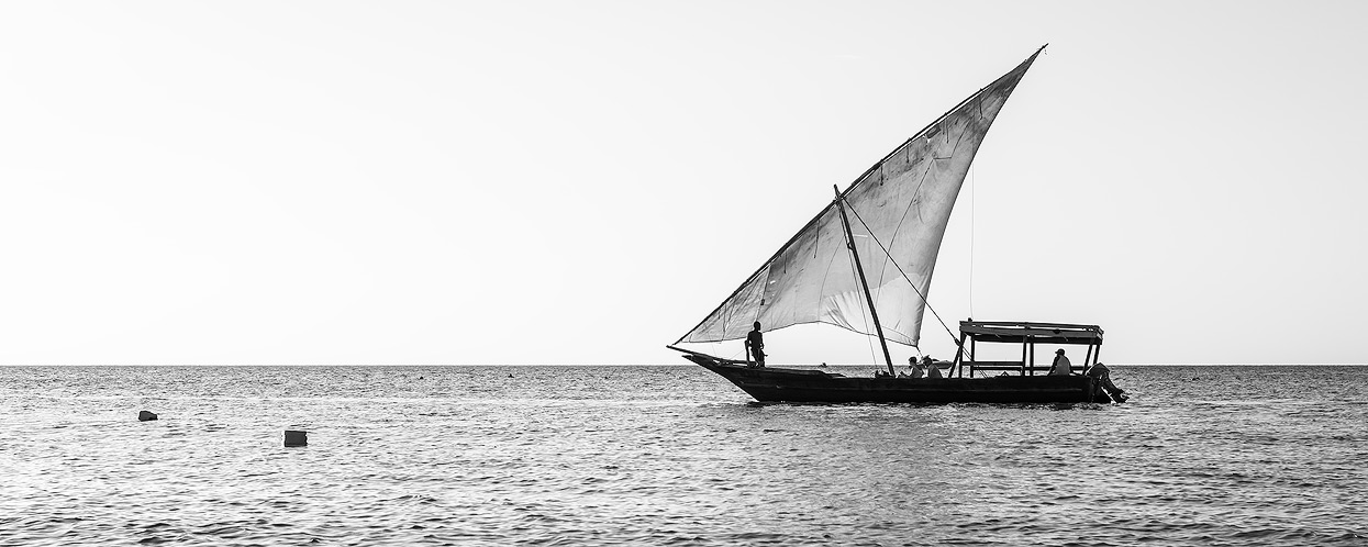 Dhow boats are also popular for Tourist tours